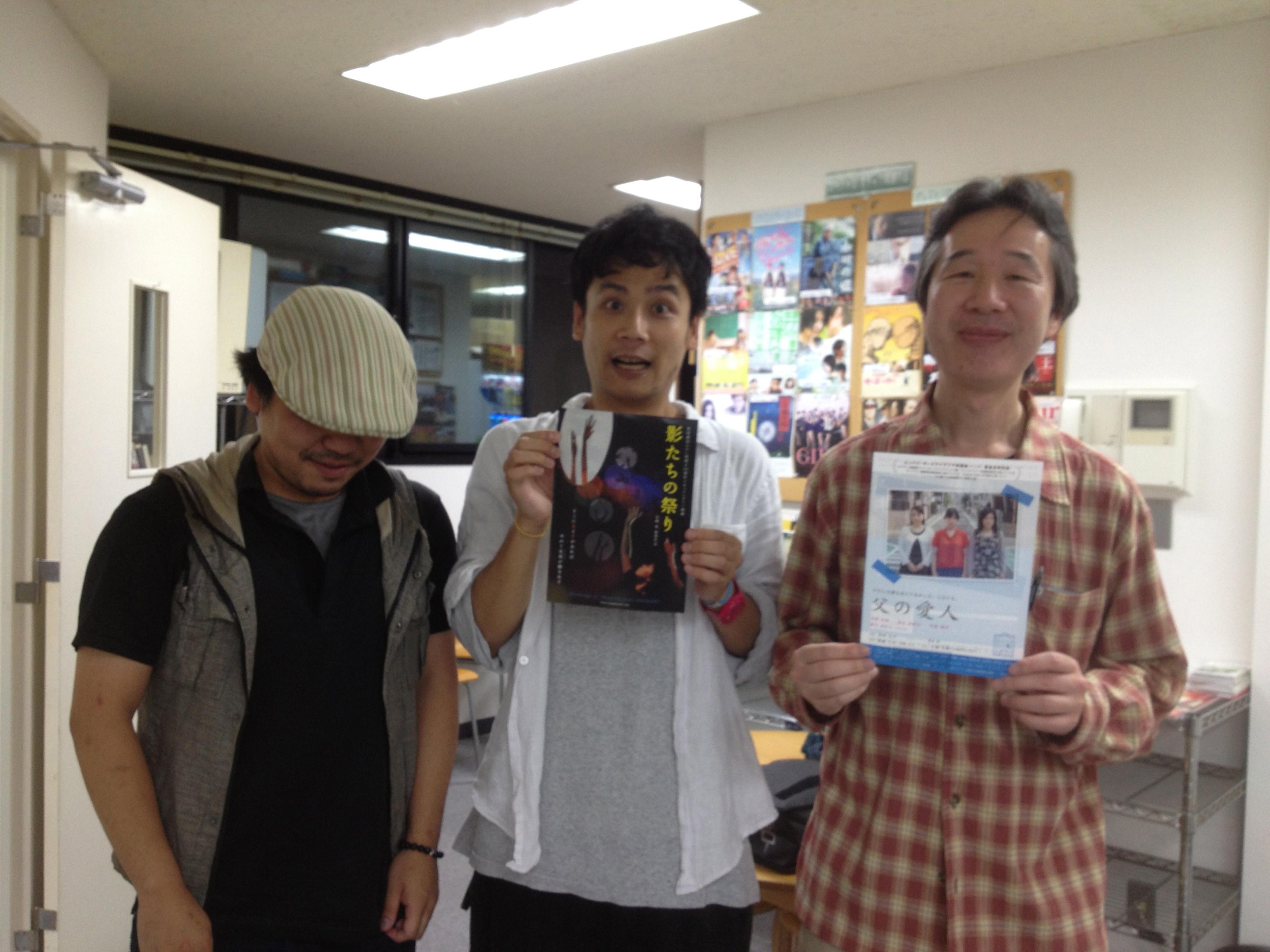 6/11 大嶋拓監督と!ちらし交換...